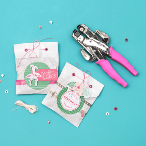 We R Memory Keepers Crop A Dile Rosa Con Estuche