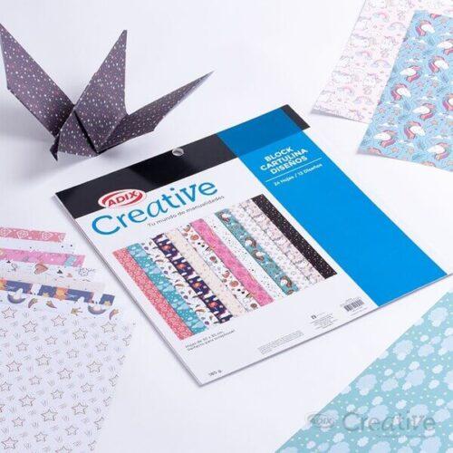 Cartulina 12 Diseños Day Dreaming 24u (013) Creative